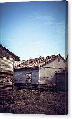 Canvas Print featuring the photograph Once Industrial - Series 2 by Trish Mistric