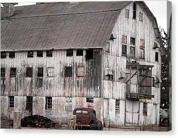Once Upon A Barn Canvas Print by David Bearden