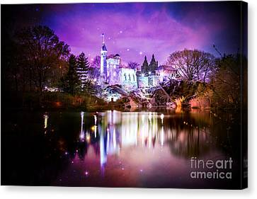 Once Upon A Fairytale Canvas Print by Az Jackson