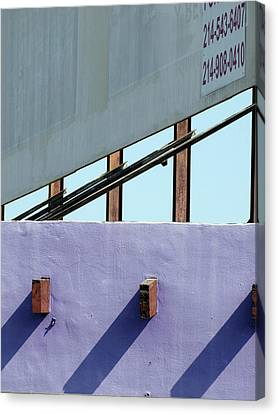 Canvas Print - Once Upon A Rooftop by Ross Odom