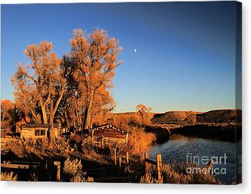 Canvas Print featuring the photograph Once Upon A Time by Edward R Wisell