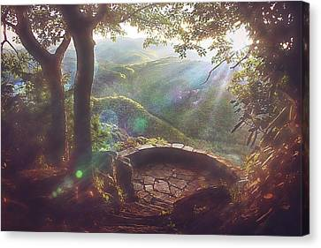 Canvas Print featuring the photograph Ever After by Jessica Brawley