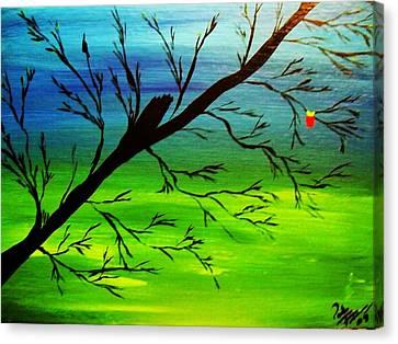 One Alive Canvas Print by Paula Ferguson