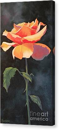 One And Only Canvas Print by Susan A Becker