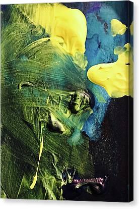 One Canvas Print by Anna Villarreal Garbis