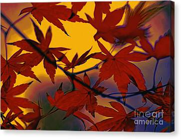 One Autumn Evening By Kaye Menner Canvas Print