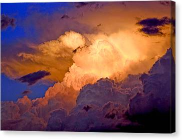 One Cloudy Afternoon Canvas Print by James Steele