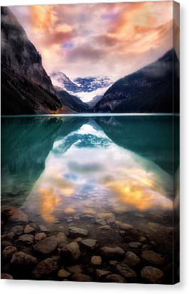 One Colorful Moment  Canvas Print