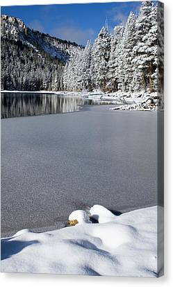 One Cool Morning Canvas Print by Chris Brannen