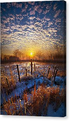 One Day At A Time Canvas Print by Phil Koch