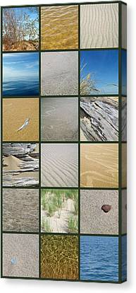 One Day At The Beach Ll Canvas Print by Michelle Calkins