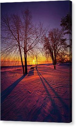 Canvas Print featuring the photograph One Day Closer by Phil Koch