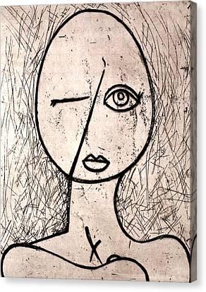 One Eye Canvas Print by Thomas Valentine