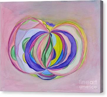 One For All Canvas Print by Elena Fattakova