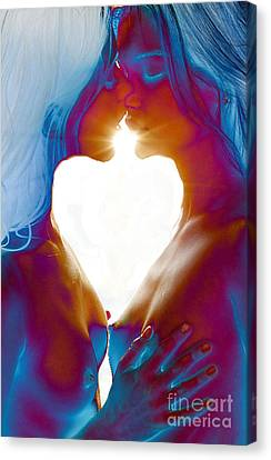 One Heart Canvas Print