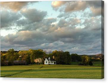One Hundred Yards To Home Canvas Print