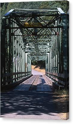 One Lane Bridge - Honeydew Canvas Print by Soli Deo Gloria Wilderness And Wildlife Photography