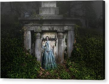 Ghost Canvas Print - One Last Look by Tom Mc Nemar