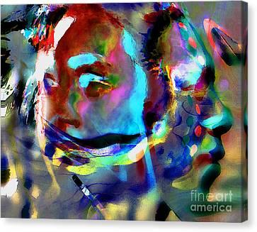 One Love Canvas Print by Terril Heilman
