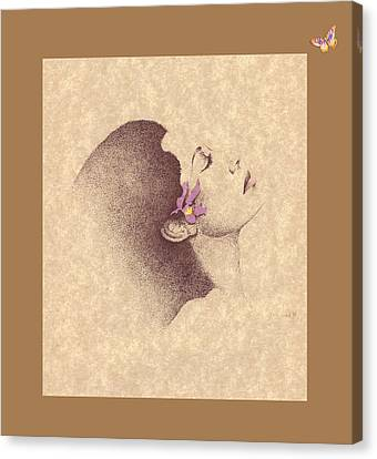 One Of A Kind Me  Canvas Print by Albert Fennell