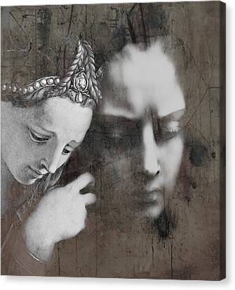 Sadness Canvas Print - One  by Paul Lovering