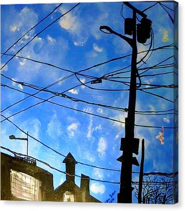 One Philly Sky Canvas Print