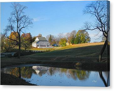 One Quiet Sunday Canvas Print by Gordon Beck