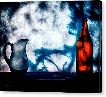 Pitcher Canvas Print - One Red Bottle by Bob Orsillo