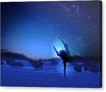 One Starry Night Canvas Print