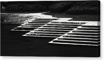 Canvas Print featuring the photograph One Step At A Time by Eduard Moldoveanu