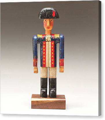 One Tin Soldier Canvas Print by James Neill