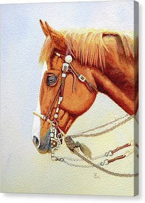 One Tricked Out Cowpony Canvas Print