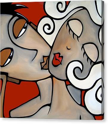 One Two Three By Fidostudio Canvas Print by Tom Fedro - Fidostudio