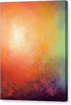 One Verse - Triptych 2 Of 3 Canvas Print