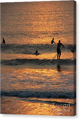 One With Nature Canvas Print by Greg Patzer