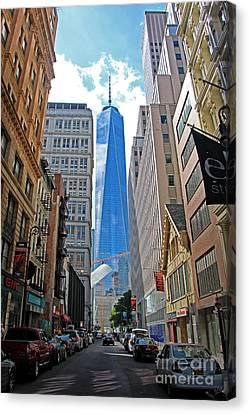 One World Trade Center Canvas Print by Nishanth Gopinathan