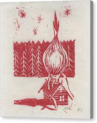 Onion Dome Canvas Print by Alla Parsons