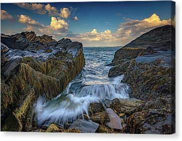 Onrushing Tides Canvas Print by Rick Berk
