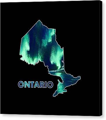 Ontario - Northern Lights - Aurora Hunters Canvas Print by Anastasiya Malakhova