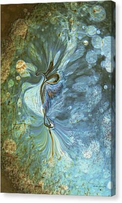 Onward Canvas Print by Linda Sannuti