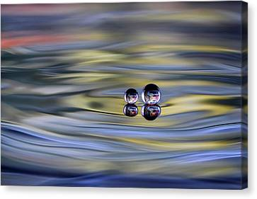 Droplet Canvas Print - Oo by Sugeng Sutanto