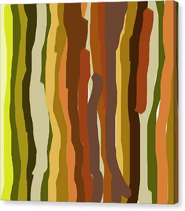 Artistic Canvas Print - Ooh, You Are Awful ... But I Like You, Abstract Art By Adam Asar by Adam Asar