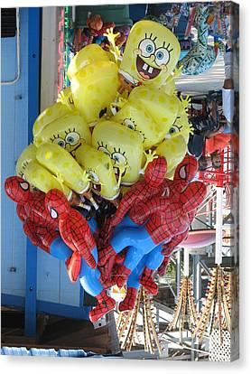 Inflatable Canvas Print - Oooo Pick Me Pick Me by Kelly Mezzapelle