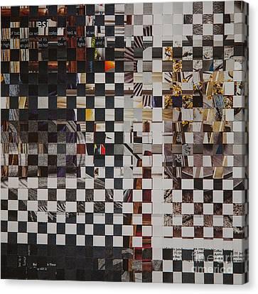 1960 Canvas Print - Op Art 101 by Jan Bickerton