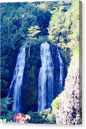 Opaeka'a Falls - Edit  Canvas Print