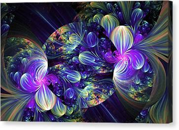 Opal Essence Canvas Print by Lea Wiggins