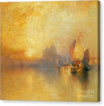 Thomas Canvas Print - Opalescent Venice by Thomas Moran