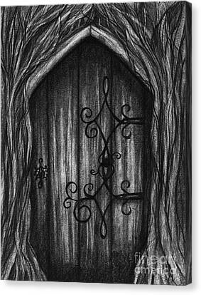 Open A New Door Canvas Print