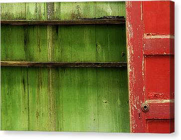 Canvas Print featuring the photograph Open Door by Mike Eingle