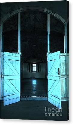 Hidden Canvas Print - Open Door by Svetlana Sewell